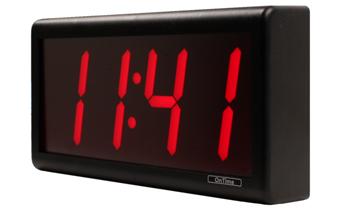 Hva er inkludert med 4 Digit PoE Clock