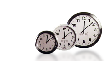 radiostyrt analog klokke